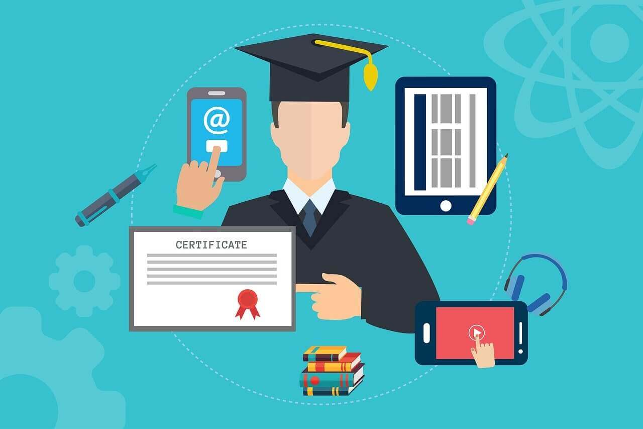 online education tutorial certificates